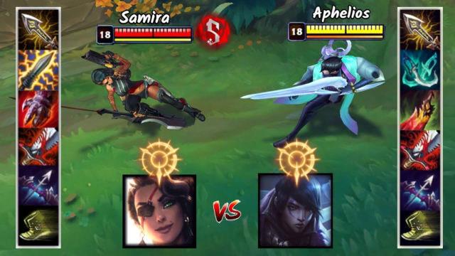 神装莎弥拉VS神装厄斐琉斯 哪个英雄更强?