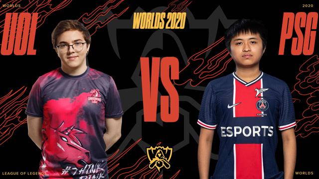 2020全球总决赛入围赛第三日 UOL vs PSG