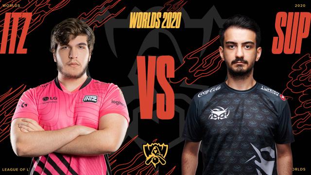 2020全球总决赛入围赛第二日 ITZ vs SUP