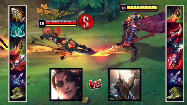 神装莎弥拉VS神装潘森 哪个英雄更强?
