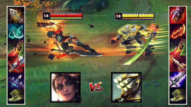 神装莎弥拉VS神装剑圣 哪个英雄更强?