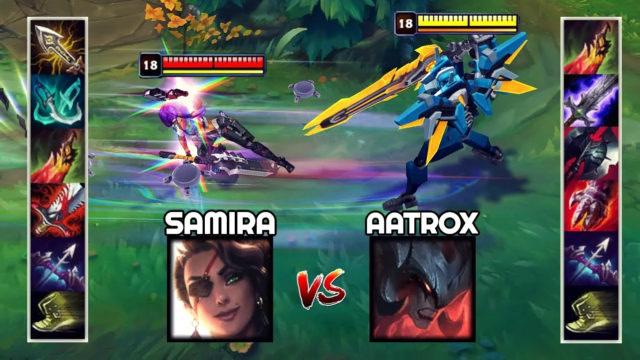 神装莎弥拉VS神装剑魔 哪个英雄更强?