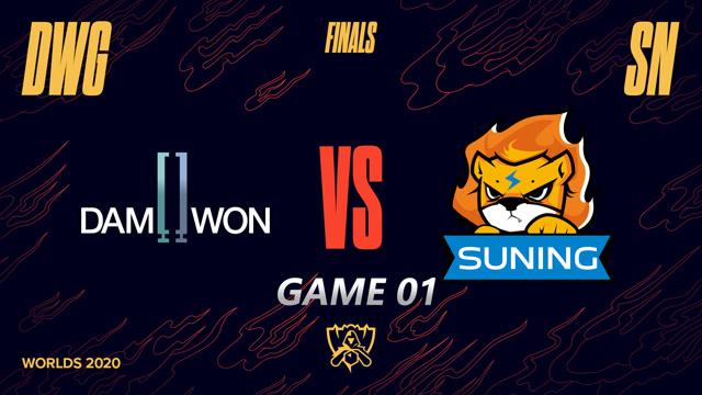 2020英雄联盟全球总决赛决赛 SN vs DWG 第一场