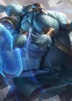 英雄联盟酒桶光明骑士皮肤图片